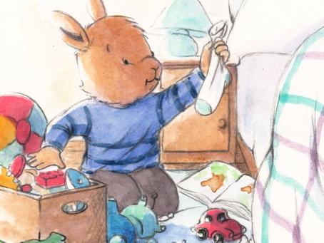 Ptit Bunny, il faudrait ranger ta chambre !