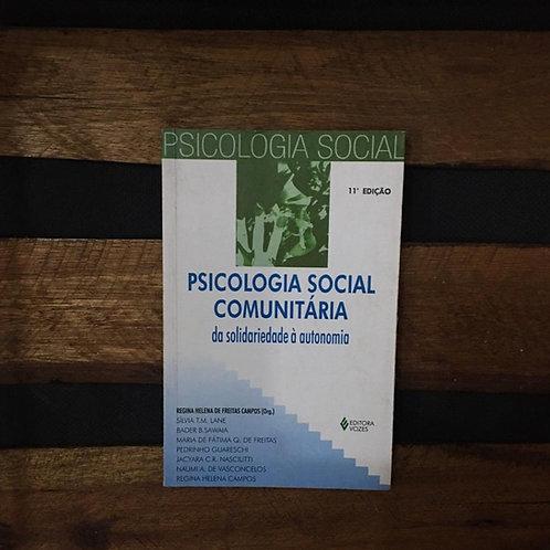 Psicologia Social Comunitária - Regina Helena de Freitas Campos org.