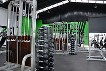 Global Gym weight training