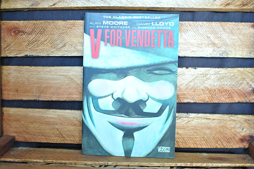 V for Vendetta - Alan Moore e David Lloyd