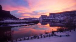 Winter Photo at RCL of Colorado River