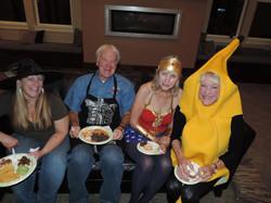 Cheryl, Eric, Kathy, Lynn, Halloween 2017
