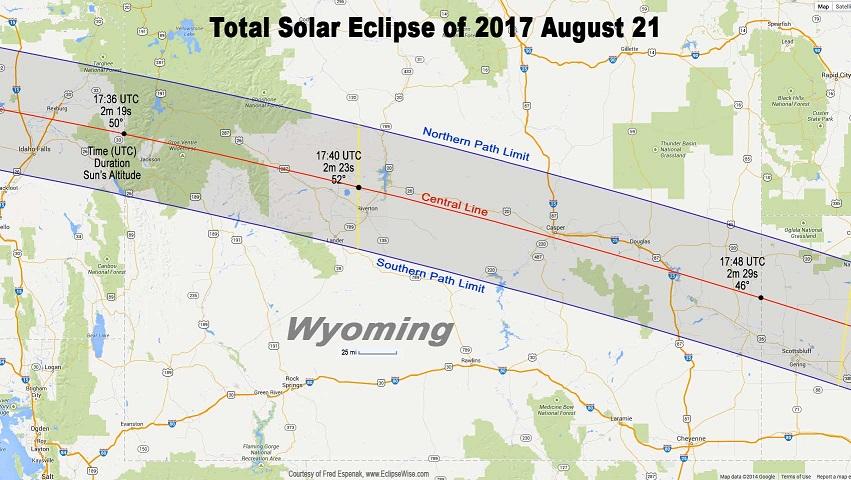 2017 MATTSE Map_Solar Eclipse, Aug. 2017