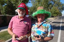 Robert M, Steve B, Crazy Hat, 2010.jpg