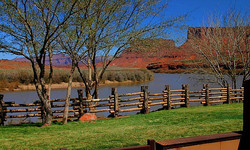 Colorado River from Room Deck at RCL