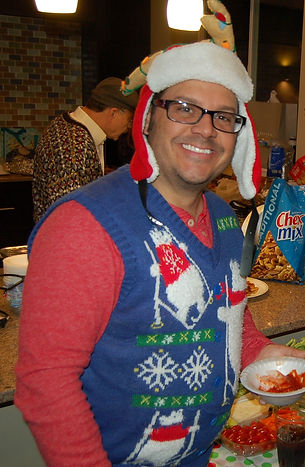 Ali Bazazz, Christmas Party.jpg