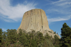 Devils Tower, WY.