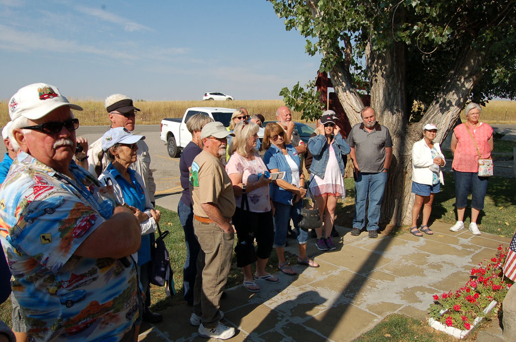 Group, Custer Museum, SD