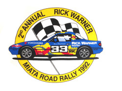 1992 Miata Rally Shirt