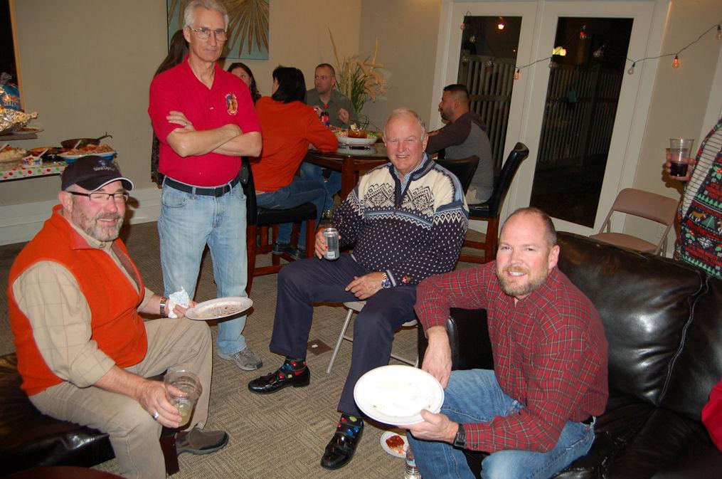 Ron, Steve N., Gordy, Steve T.