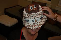 Sharon,  Poop Hat