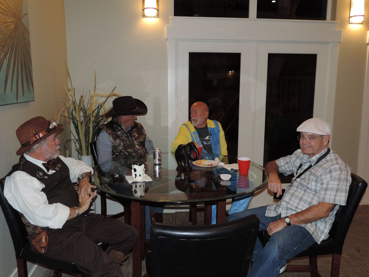 Jeff, Gordy, Robert, Doyle, Halloween 20-17