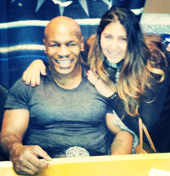 Mike Tyson in Las Vegas