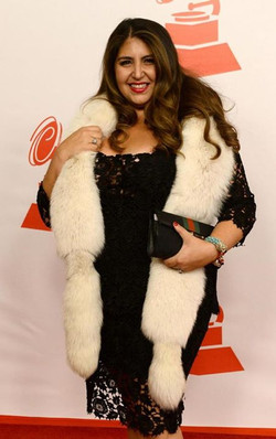 Sacha at The Latin Grammy's
