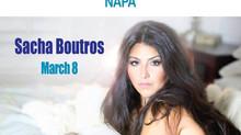 Sacha @The Blue Note Napa March 8