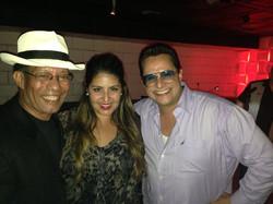 Manny Cepeda and Tito Puento Jr.