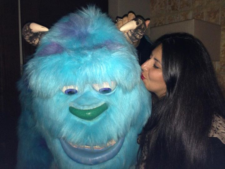 I kissed a monster!