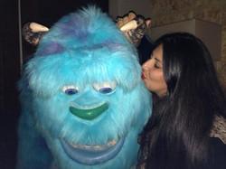 I kissed a monster!