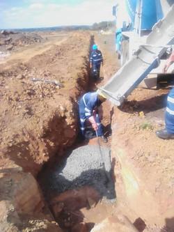 C105 Concrete footing 2019-06-24 at 10