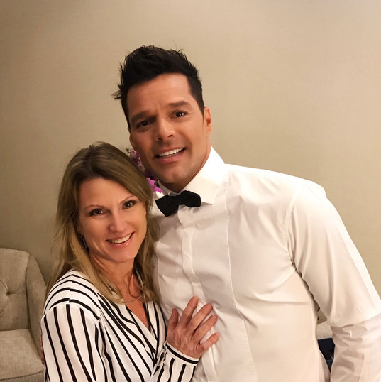 Me and Ricky Martin