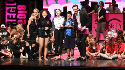Judging for Celebrity Dance
