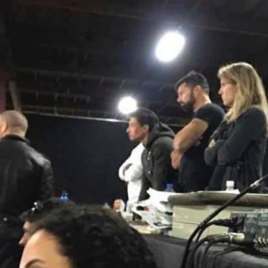 Auditions with Ricky Martin