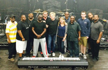 Me and the Brian Culbertson Band