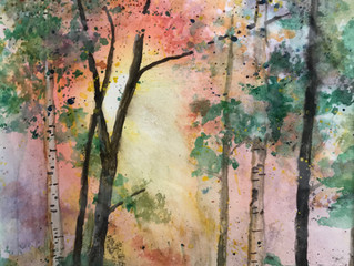 In Retirement, Baylis Maxwell Dabbles in Watercolors