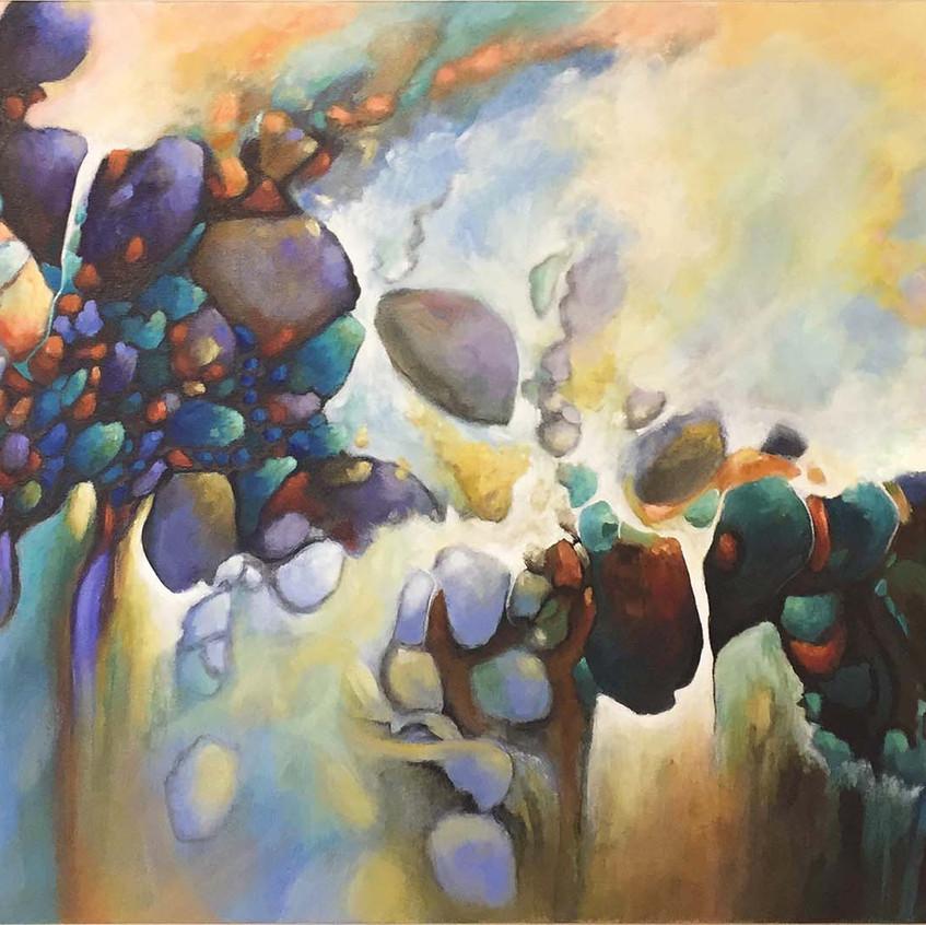 Cosmic Passages 40x20 - #14 Cosmic Dance