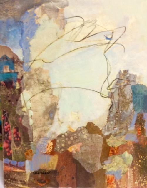 Blue House by Ann Heard