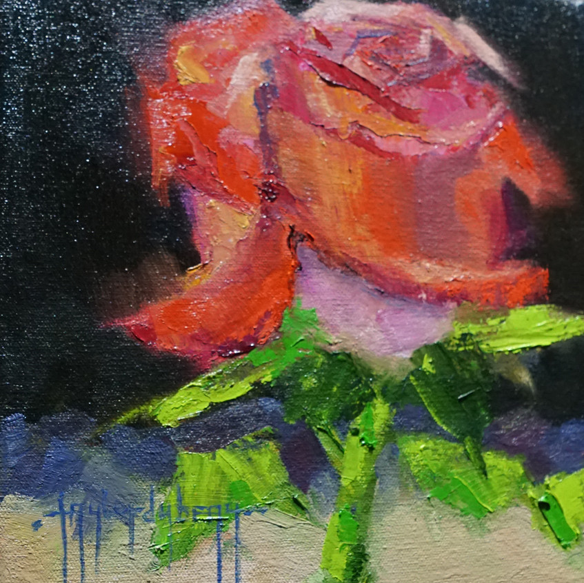 A Rose by any other Name by Taylor Dubeau oil