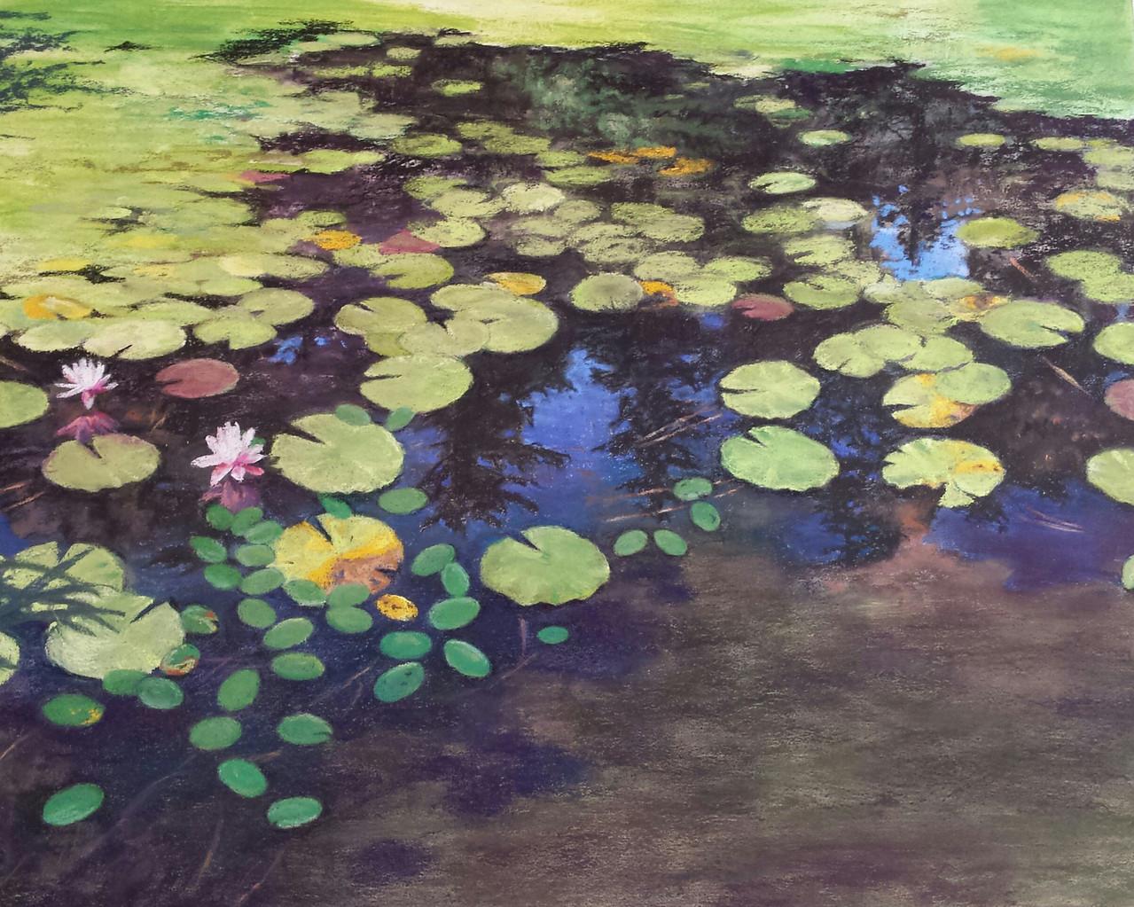 Lilypads pastel
