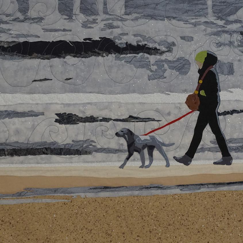 Dog Walker by Evelyn Beck
