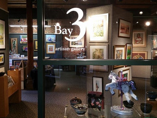 Artists Work Together at Bay3 Gallery