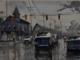 Watercolorist Russell Jewell to Speak at Next AAG Meeting