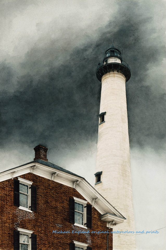 Dad's Lighthouse by Michael England