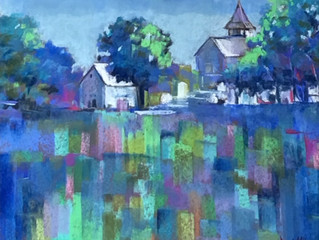 Brenda McLean Is Drawn to the Colors of Pastels