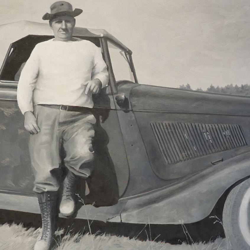 Granddad's Ford by Garret Hamm