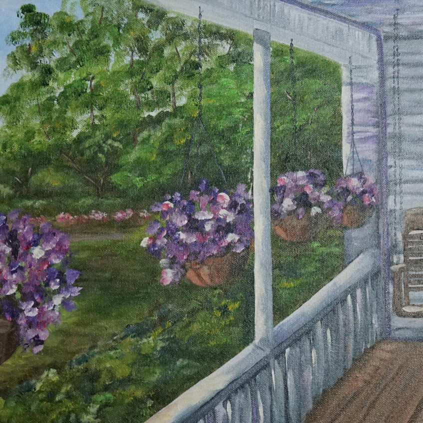 Grandma's Front Porch by Yvonne Park