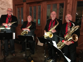 Saxophone Quartet to Perform at Christmas Party