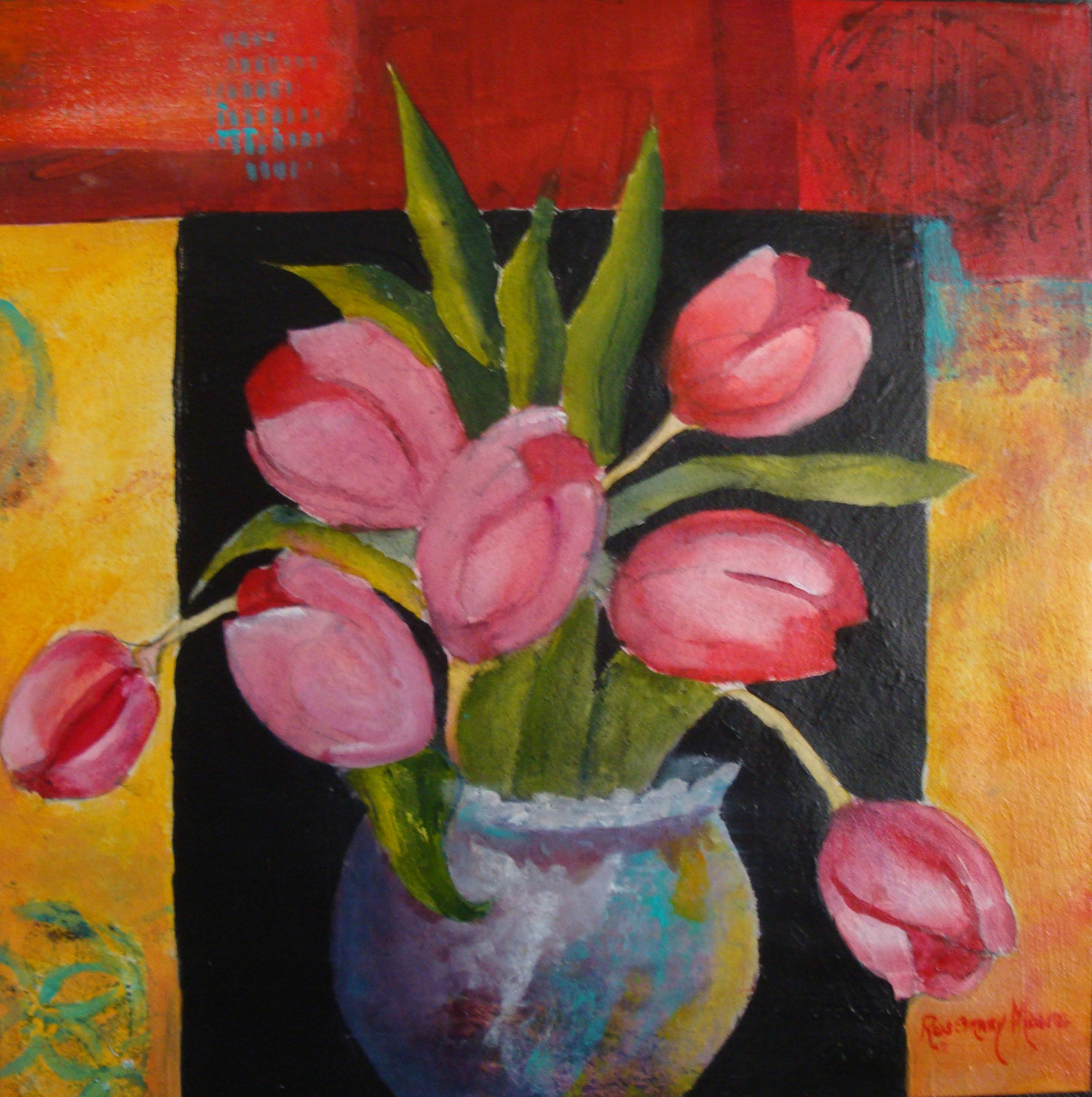 Spring Flowers by Rosemary Moore