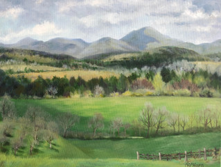 Donna O'Hara Combines Passions for Painting and the Outdoors