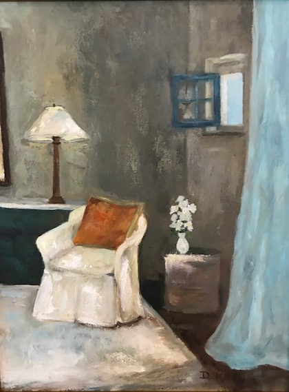 Chair in White by Deane King
