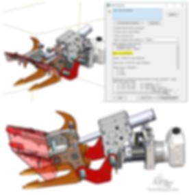 hydraulic jaw design battlebot fighing robot