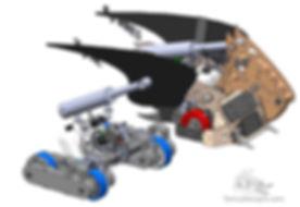 design hydraulic bttlebot solidworks