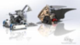 griffin fighting robot design cad solidworks
