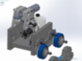 battle robot hydraulic cylinder design