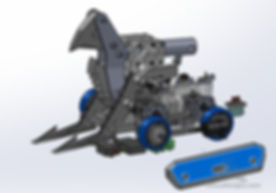UHMW robot design, CAD
