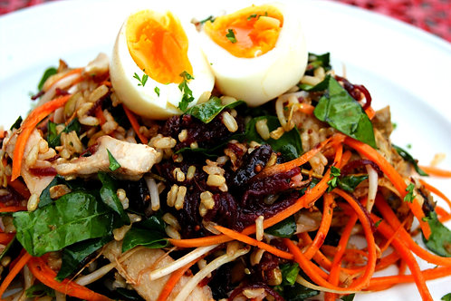 Chargrilled Chicken Energy Salad
