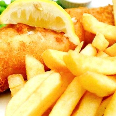 Tempura Beer Battered Fish & Thick Cut Chips